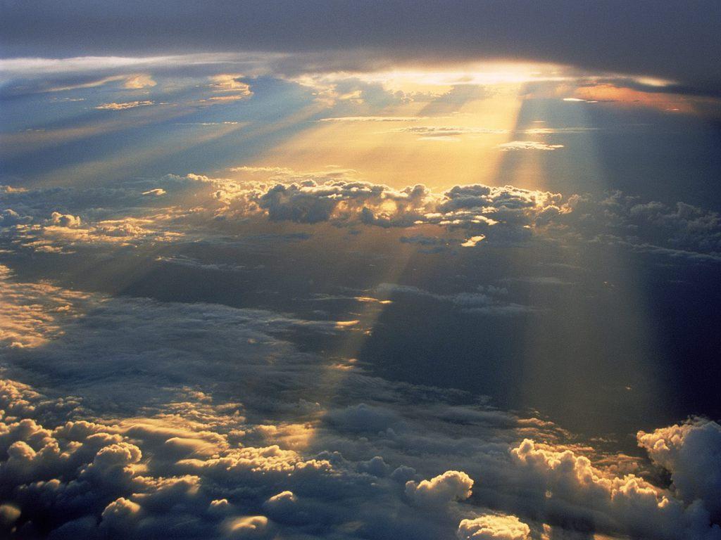 лучи солнца картинки
