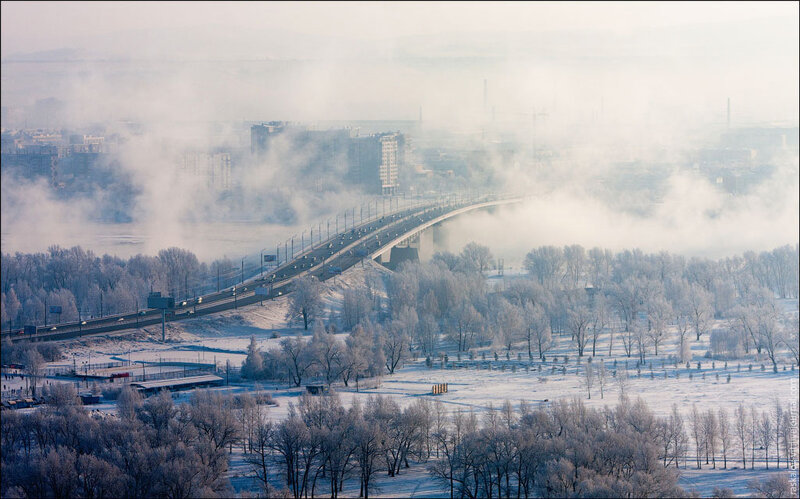 Красноярск с высоты птичьего полета | Гаджеты в Красноярске