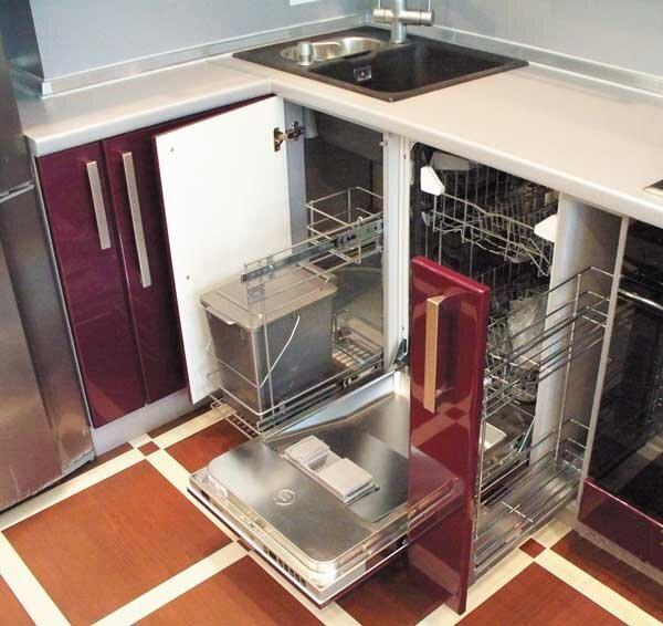 Кухня 23 кв.м дизайн