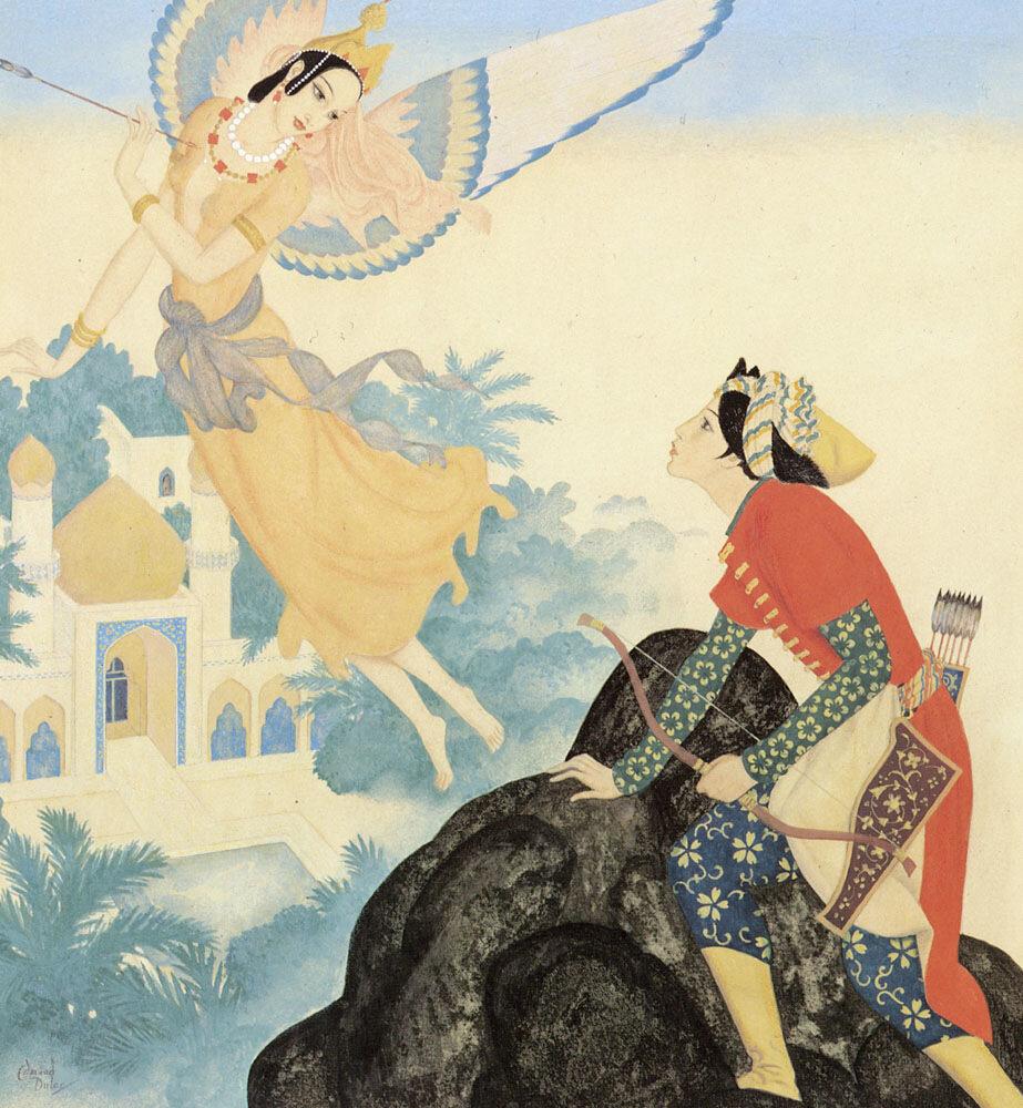 Peri Banu , prince Ahmed