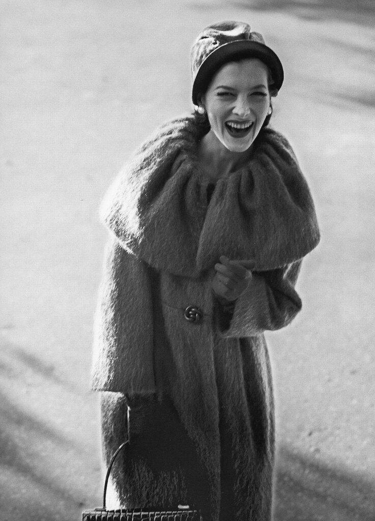Jerry Schatzberg.Rose Marie Le Clerc, New York, 1958