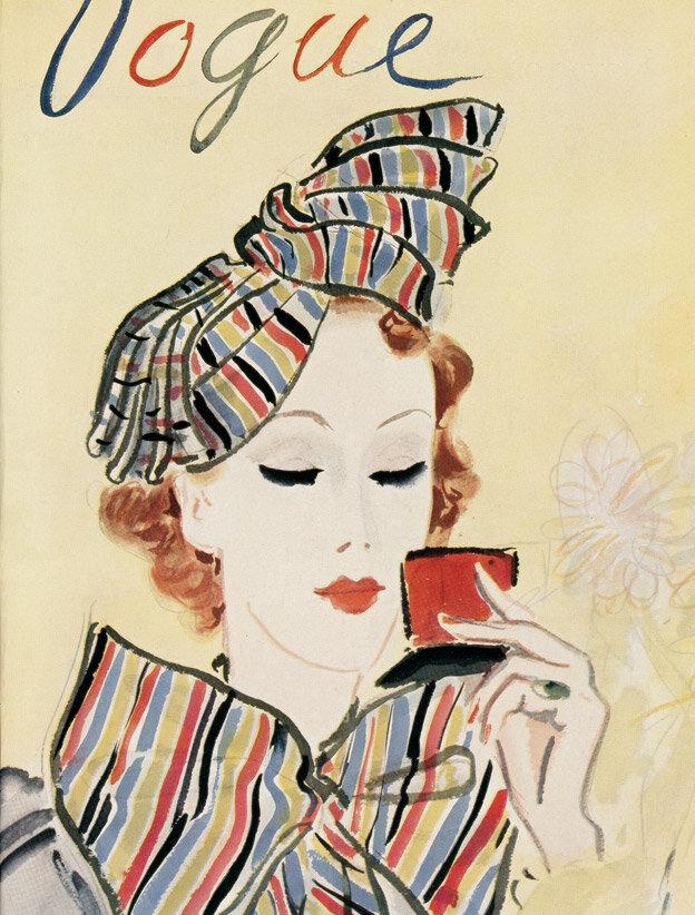 Vogue Magazine cover 1935