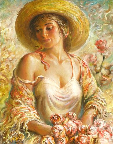 розы картины