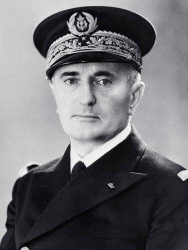 Французский адмирал Жан Дарлан.