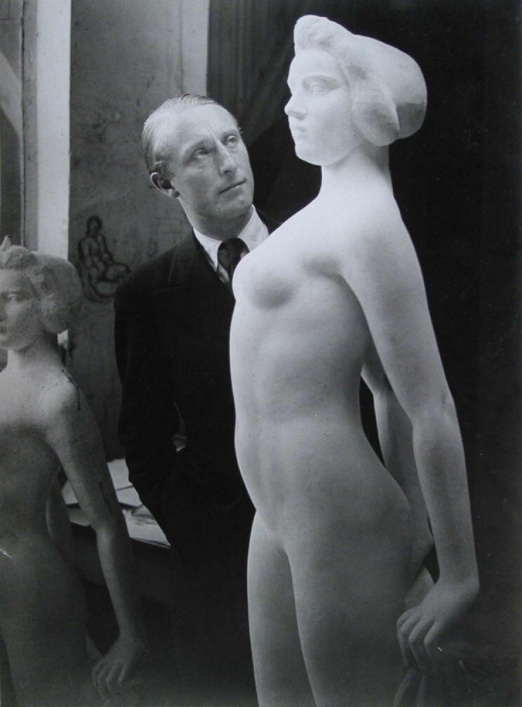 1938. Портрет Альберта Скира