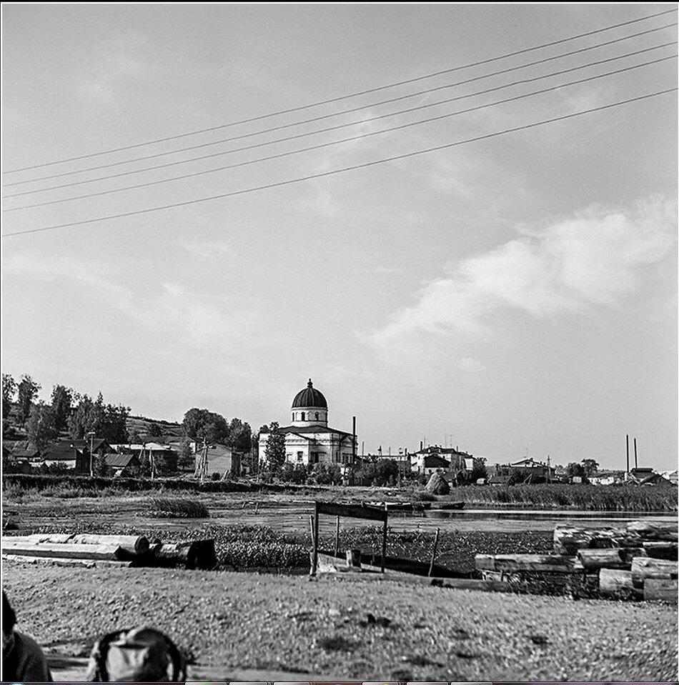 Троицкий собор. Вид от причала