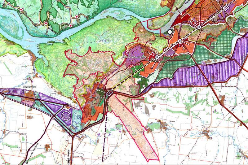 Концепция пространственного развития Самарско-Тольяттинской агломерации