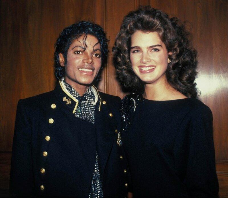 Брук и Майкл Джексон