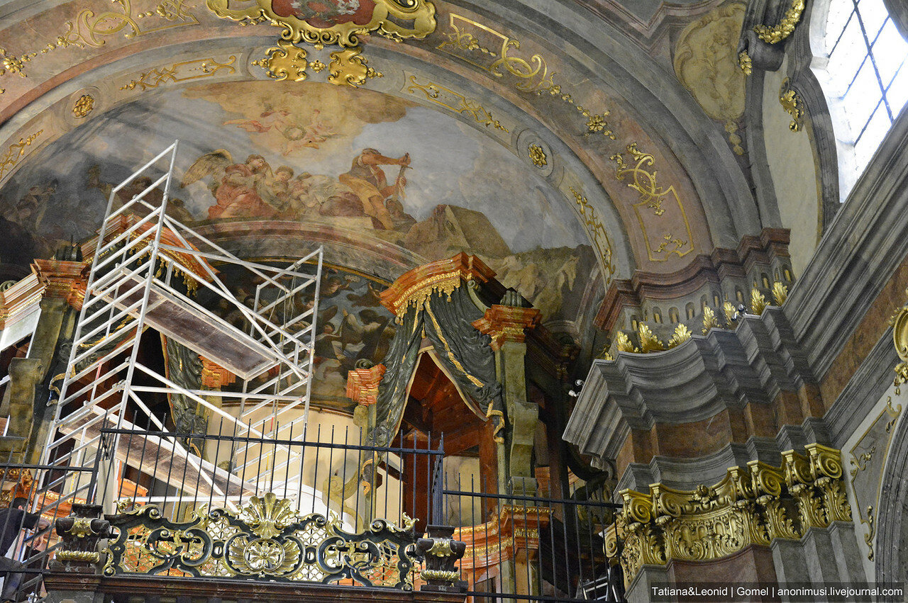 Костел святой Екатерины Александрийской. Прага