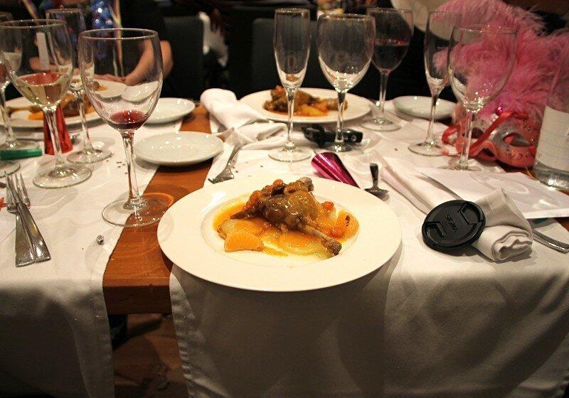 Барселона. Новогодний ужин в отеле Front Maritim 4*