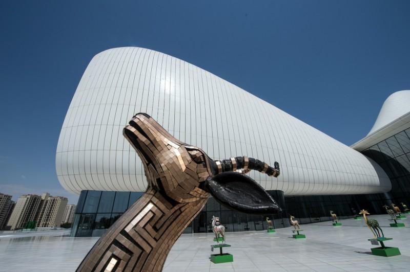 Культурный Центр им. Г. Алиева, Баку.