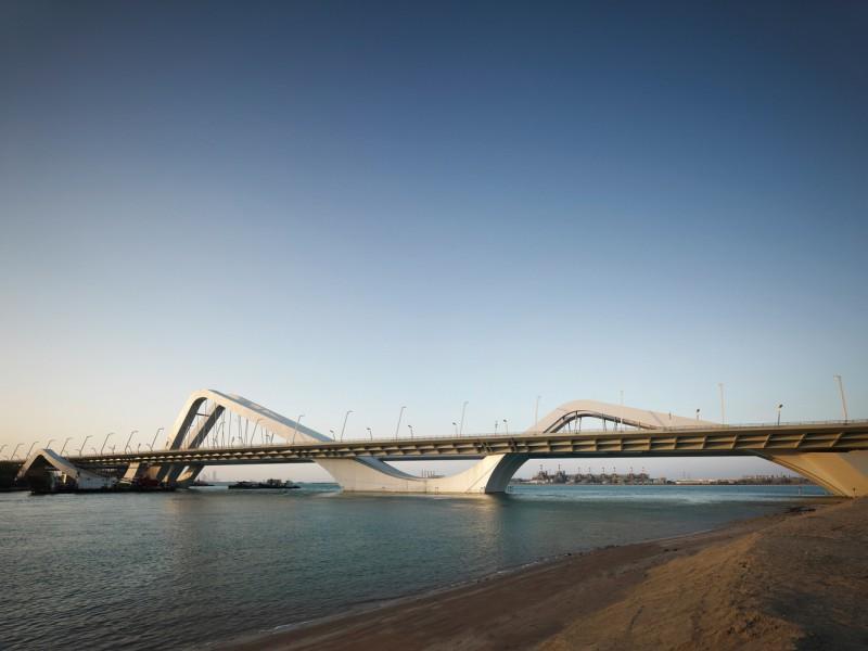 Мост Шейк Зайед, ОАЭ.