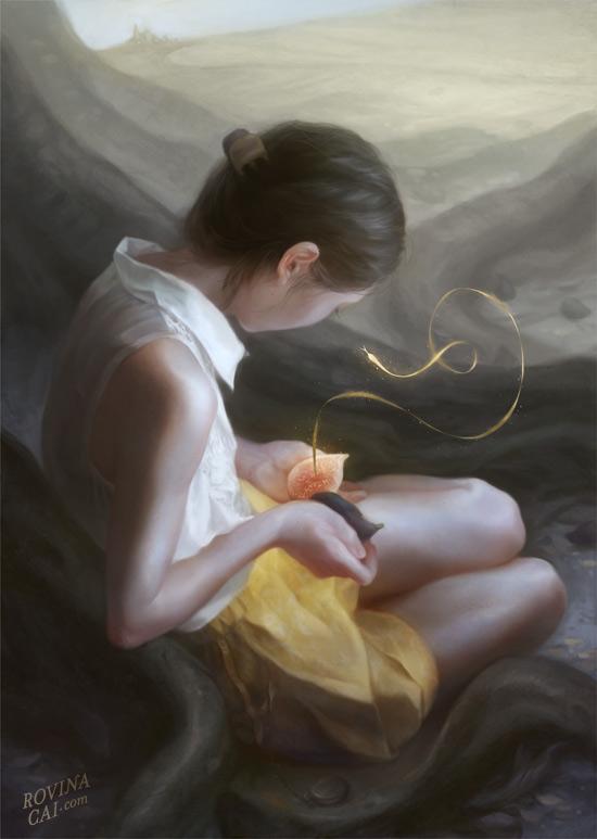 Окно в сказку: иллюстрации Ровины Цай