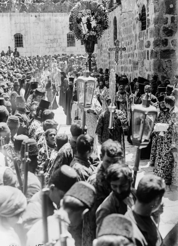 1915 год. Греческая православная процессия.