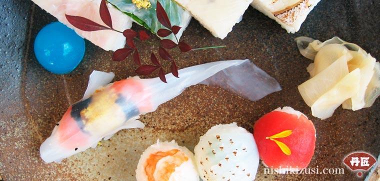 Необычные суши (8 фото)