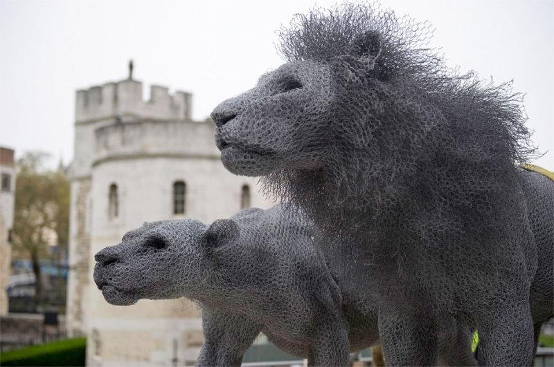 Кендра Хэйст — лучшая художница Великобритании, она работает с очень сложным для скульпторов материа
