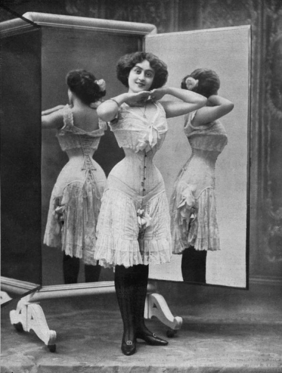 1910-е годы. Первое десятилетие века увидело дебют более открытого и провокационного белья (более гл