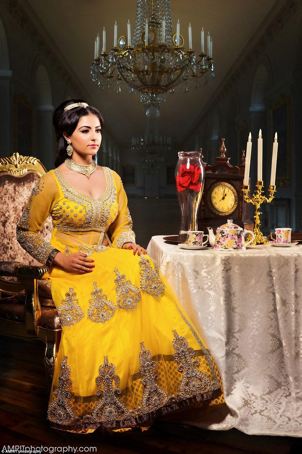 Индийские невесты в образе диснеевских принцесс