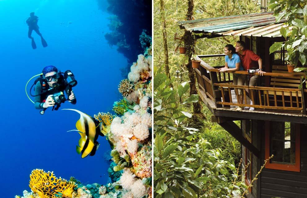 2. Панама обладает богатейшими и чрезвычайно разнообразными биологическими ресурсами. Здесь просто р