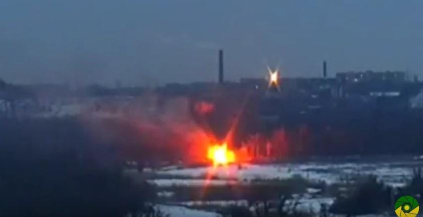 Горячий день: десантник выстрелом изПТРК уничтожил БМП террористов