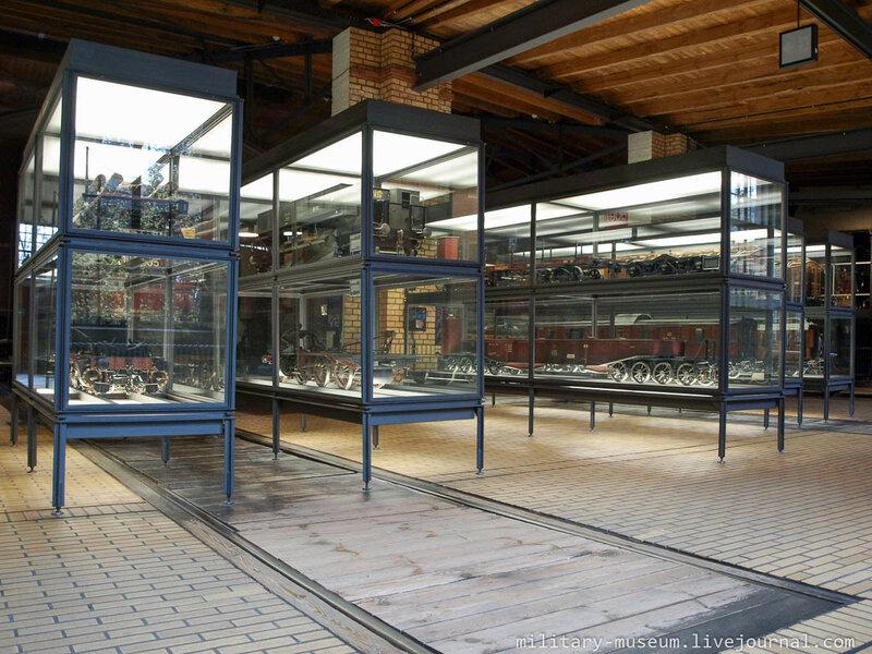 Немецкий технический музей в Берлине - поезда