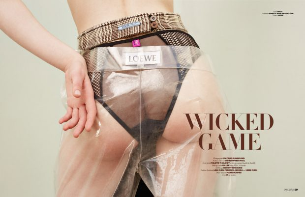 Wicked Game story captured for our D'SCENE Magazine 's #SUPERS Summer 2016 edition by fashion