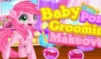 ���� �������� ���� (Baby Little Pony Groming)