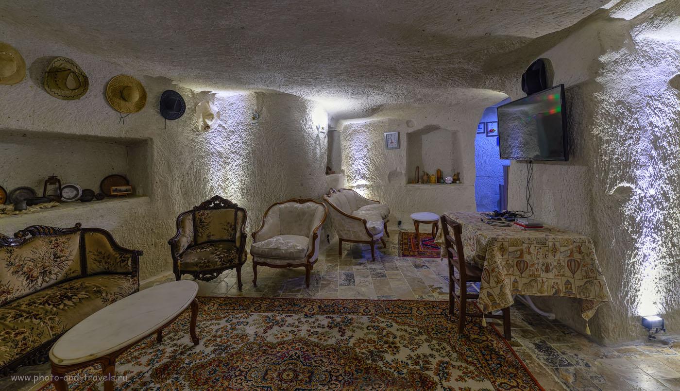 Фотография 10. Где поселиться в Каппадокии? Конечно, в гостинице Melek Cave Hotel или в близлежащих. Как мы путешествовали по Турции дикарями на арендованной машине. ХДР, Самъянг 14мм.