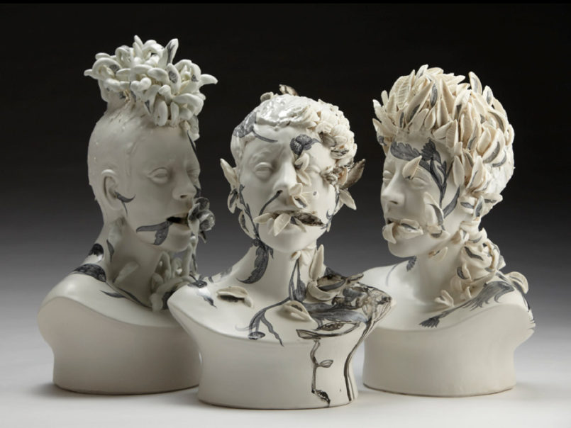 Viral: Ceramic Sculptures by Jess Riva Cooper
