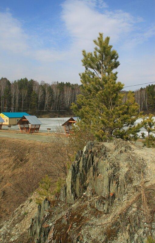 Россия, возле Карпысакского водопада (Russia, near the waterfall Karpysaksky)