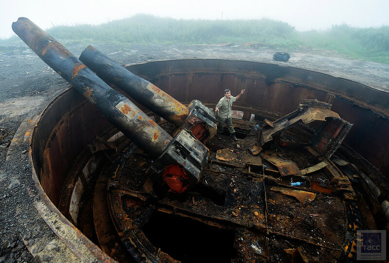 На юге Приморья продолжают пилить батарею времен Великой Отечественной войны