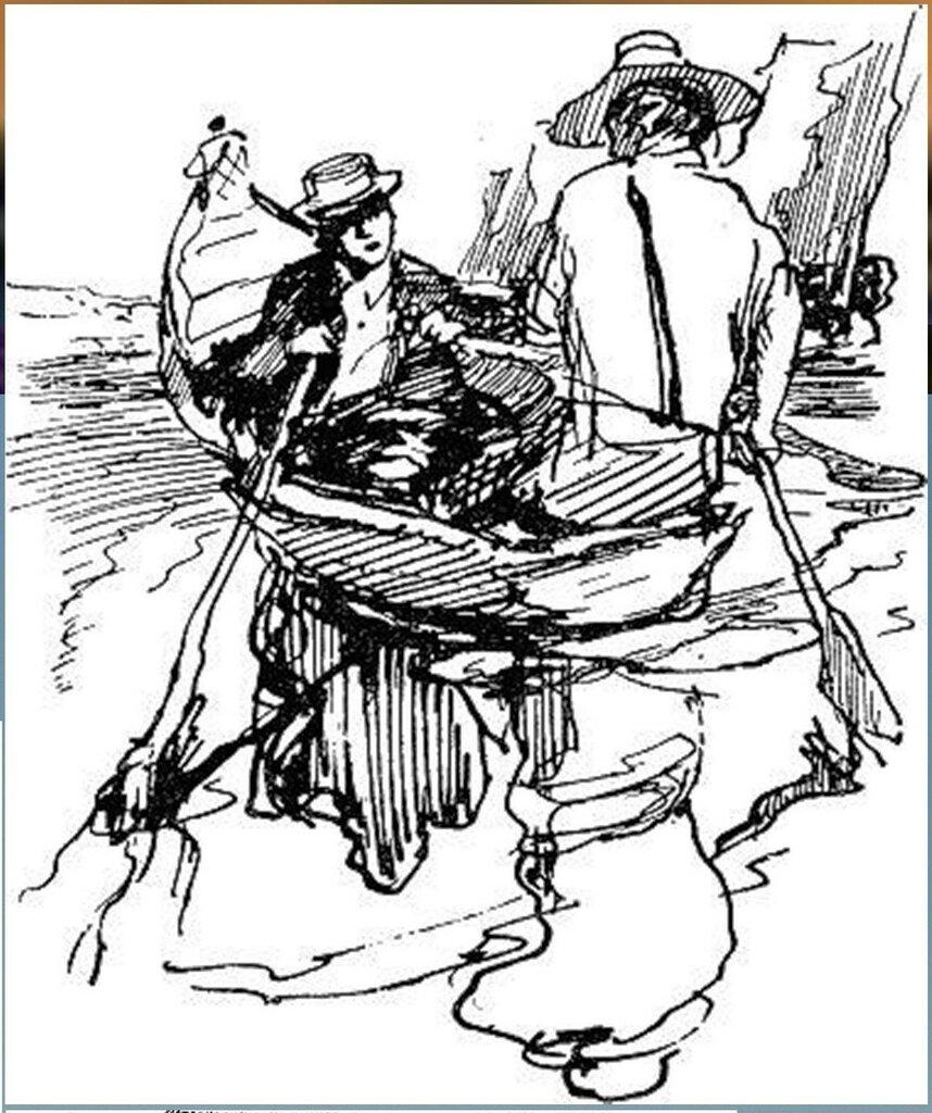 Иллюстрация В. Н. Горяева к пр-ю М.Твена Приключения Тома Сойера (42).jpg