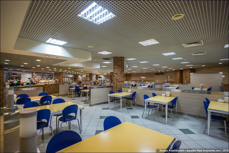 Столовая в аэропорту Домодедово