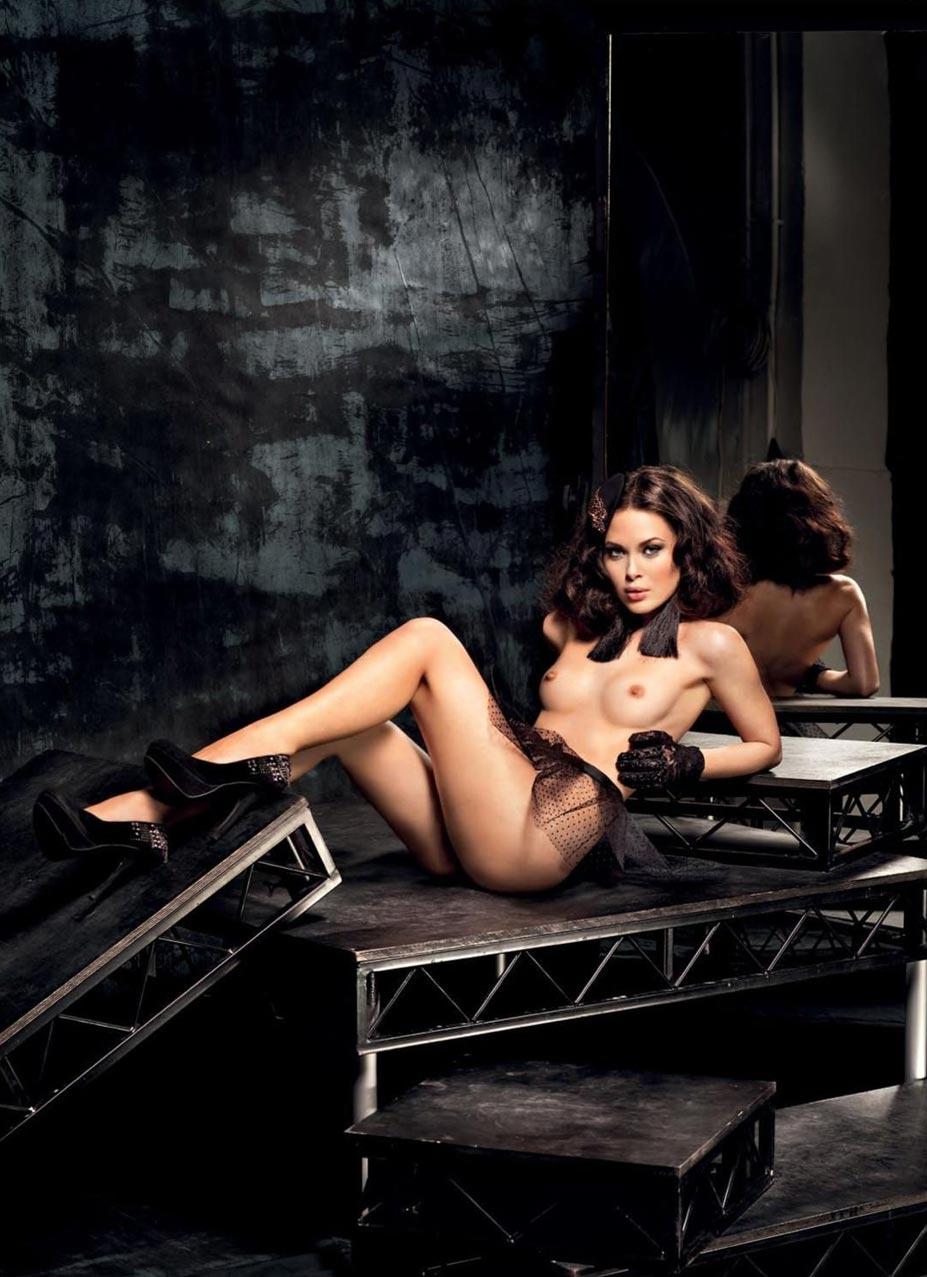Alina Mayer / Алина Майер в журнале Playboy Slovenia, октябрь 2016 / фотограф Юлия Скалозуб