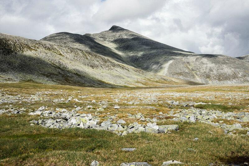 гора Хёгронден (Høgronden) в парке Рондане (Rondane), Норвегия