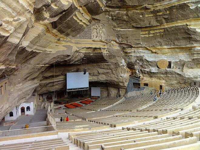 Пещерный монастырь Святого Симеона Сапожника. Египет