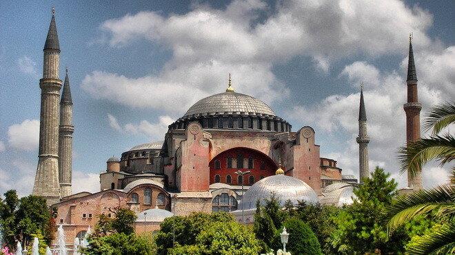 Собора Святой Софии. Стамбул, Турция