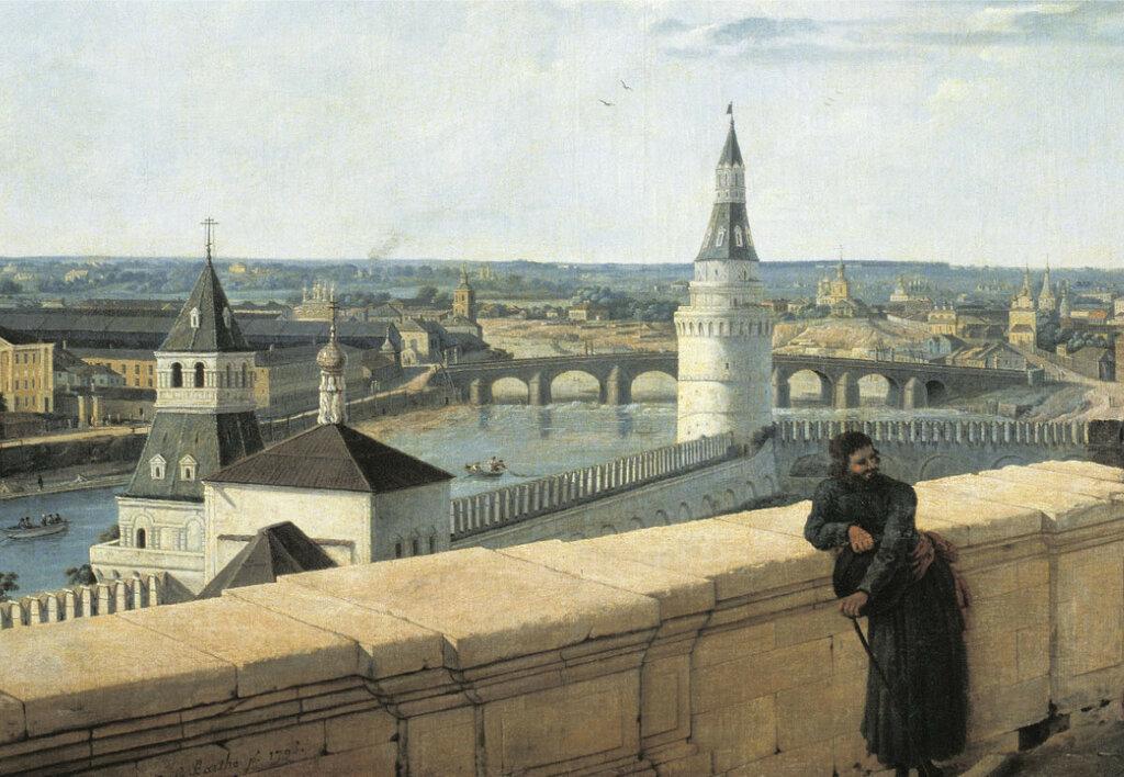 454068 Вид Москвы с балкона Императорского дворца в сторону Каменного моста 97 Ж. Делабарт.jpg
