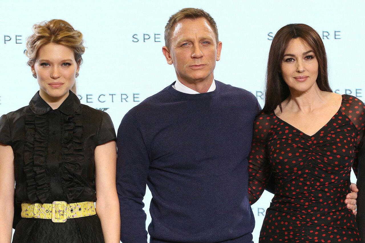 The launch of new James Bond film, Spectre  - Arrivals