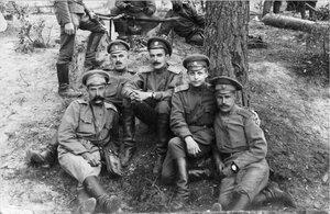 Офицеры полка