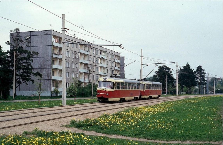 4-й маршрут трамвая в Иманте