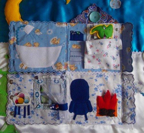 Развивающий коврик для детей... Волшебный домик... спальня