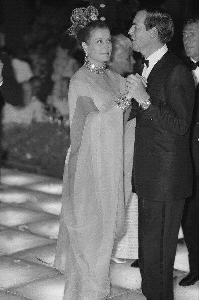 Red cross gala in Monaco on January 01, 1968.