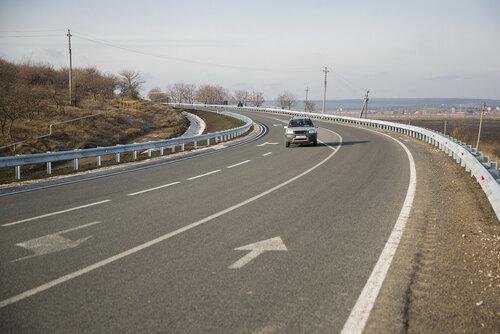 На трассе Кишинёв - Одесса появился объезд города Каушаны