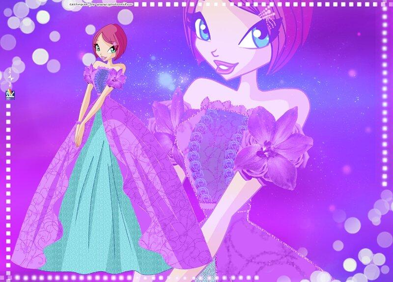 Картинки винкс лейла в платье 8