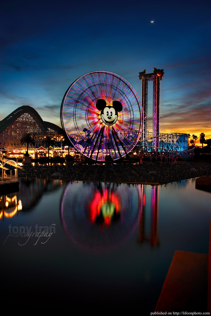 Ferris Wheel Колесо обозрения