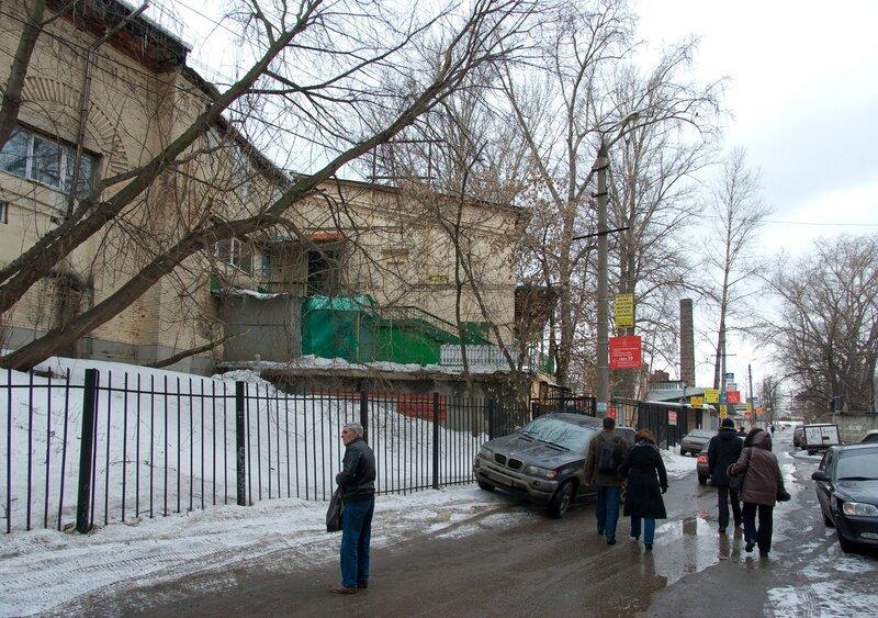 Круговое депо Москва-Октябрьская