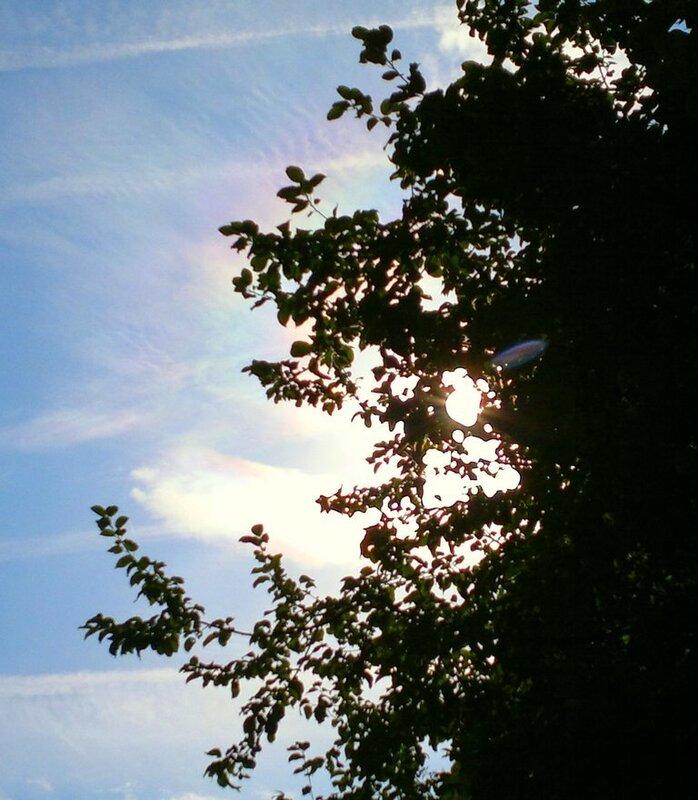 Радужные облака 2011.09.28  12:42