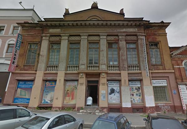 Дом офицеров на ул. Спасская, 23а