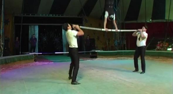 Рабочие украинского цирка «Руссоли» избили мозырян